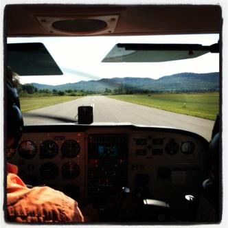 Paul Scott - Western Massachusetts - Flying over Project Art, Cummington with Josh Simpson