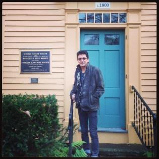 Paul Scott's USA Tour- dual residencies at Project Art and the Clay Studio - Historic Cummington