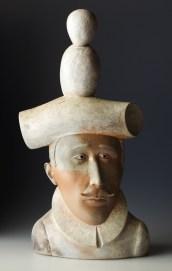 "Sergei Isupov, ""The Guild"" 2013, 23 x 11.5 x 6""."