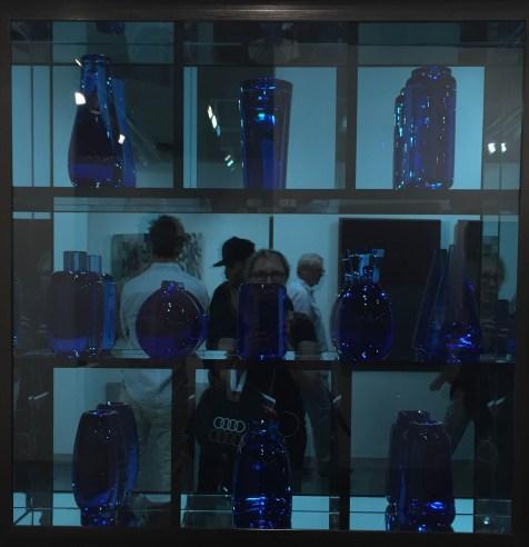 "ART BASEL MIAMI BEACH |Andrea Roen | Josiah McElheny ""Blue Prism Painting II"" 2014,"