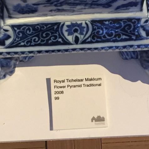 DESIGN MIAMI |Priveekollektie | Royal Tichelaar Makkum New Edition of the Traditional Pyrmaids of Makkum, 2008