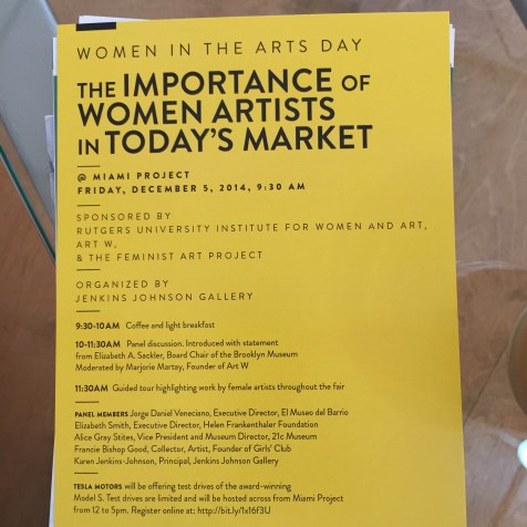 MIAMI PROJECT | The Importance of Women Artists in Today's Market | Panel Discussion