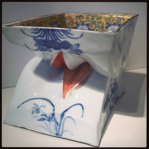 MIAMI PROJECT   Ferrin Contemporary   MADE IN CHINA: New Export Ware   Paul Mathieu   Kiss Bowls, Two Men