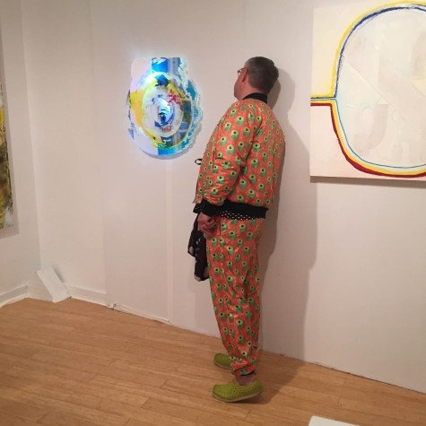 AQUA | Scene + Seen | Dressed for pondering the meaning of art