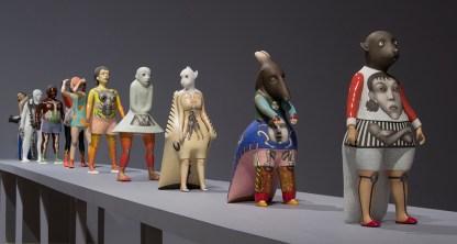 "Sergei Isupov, ""Hidden Messages"", Erie Art Museum, Installation View"