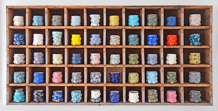 Kadri Pärnamets, Cups Installation, 2020.