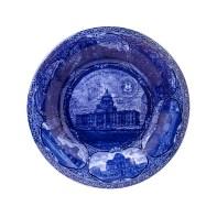 Paul Scott, Cumbrian Blue(s), New American Scenery, Souvenir of Providence, Cape Coast Castle, 2019