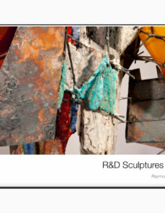 "Raymon Elozua, ""R&D Sculptures 2014"" catalog cover."