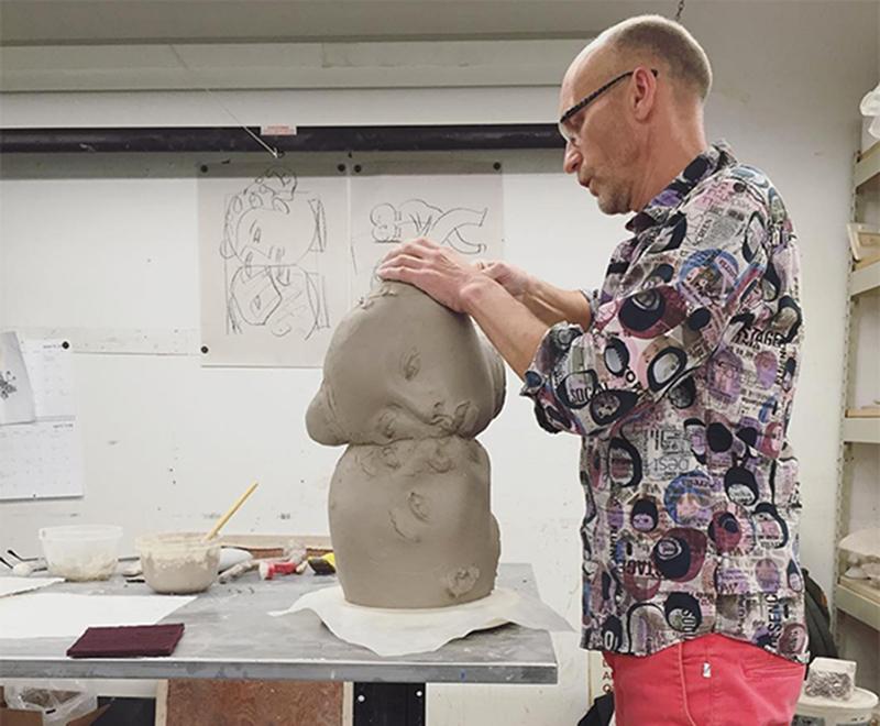 ARTIST NEWS: SERGEI ISUPOV  |  Fire Sculpture, Workshop, Exhibitions