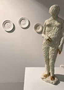 """""""The Women"""" at Ferrin Contemporary in North Adams, MA. Work by Caroline Slotte and Claire Curneen pictured."""