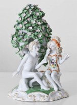 "Chris Antemann, ""Pursuit of Love"" 2013, porcelain."