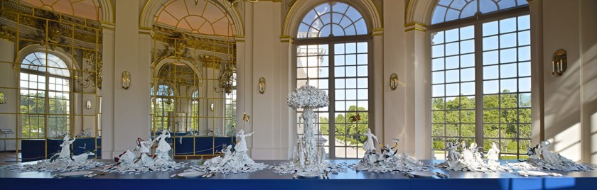 "Bouke de Vries, ""War and Pieces"" 2012-23, Charlottenburg Palace, Berlin. photo: ©Charlottenburg Palace"