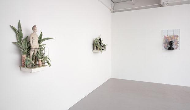 "Cristina Córdova, ""Del balcón"" 2018 - installation at Ferrin Contemporary"