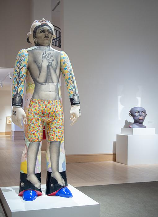 """About Face"", Montgomery Museum of Art, 2019, Sergei Isupov"