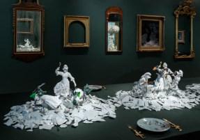 "Bouke de Vries, ""War and Pieces"" 2018, Wadsworth Antheneum."