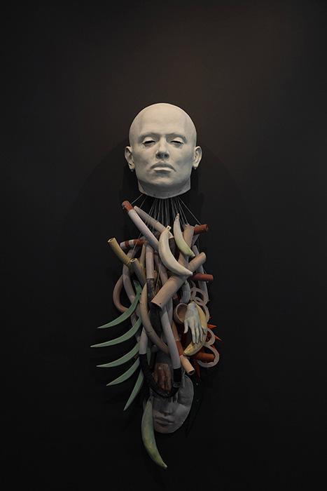 """Cristina Córdova, 'Recolección', 2019, ceramic, 67 x 24 x 12.5""""."""