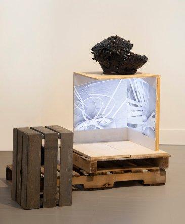 "Anina Major, Installation View, ""No Vacancy in Paradise"", 2020"
