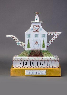 "Mara Superior, ""A Tea House"", 1988 Racine Art Museum, Gift of the Kohler Foundation, Inc. Photography: Jon Bolton"