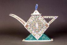 "Mara Superior, ""A Tea Party"", 1985Racine Art Museum, Gift of the Kohler Foundation, Inc.Photography: Jon Bolton"