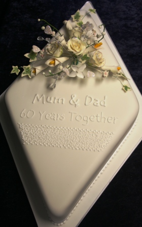 Melanie Ferris Cakes News Diamond Wedding Anniversary Cake