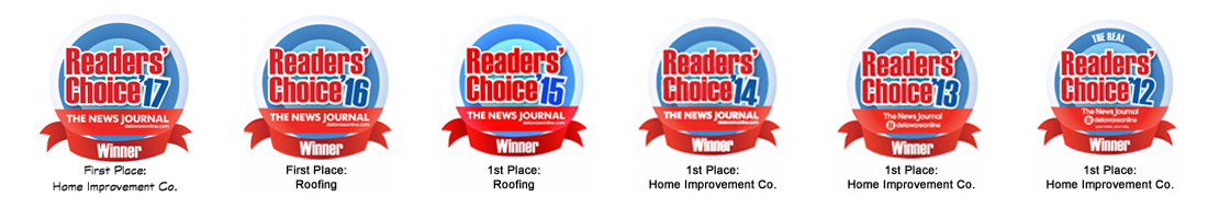 Ferris Home Improvements winners of Readers' Choice Award 7 years in a Row!