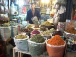 Spices at a marketplace in Syria