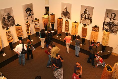 http://commons.wikimedia.org/wiki/File:Maori_Exhibit_at_Hallie_Ford_Museum_of_Art.jpg
