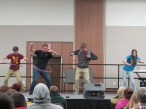Hula Hoop Contest Crowd Participation. Courtesy of Ferris Honors