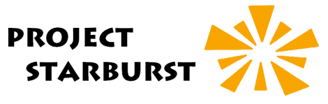 Project Starburst Logo. Courtesy of the Food Pantry at Project Starburst in Big Rapids, MI.