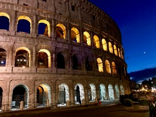 Colosseum in Rome, Italy. Courtesy of Honors student, Angela Nguyen.