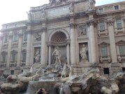 Trevi Fountain Rome, Photo by Alex Costa, used with permission by the Honors Program at Ferris State