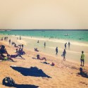 Jumeirah Beach in Dubai, Photo by Melanie Lobsinger, used with permission by The Honors Program at Ferris State