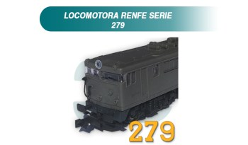 Kit conversion locomotora renfe 279 kato ferro3d