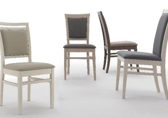 Kárpitozott/Fa keretes székek