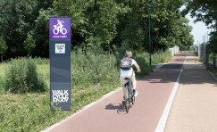 Waltham Forest Digital Cycle Totem