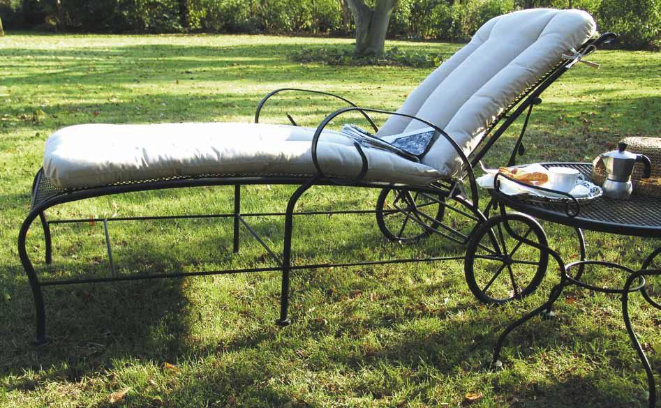 Mobili in ferro per il giardino  arredamento da esterni