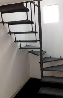 escalier en fer forge