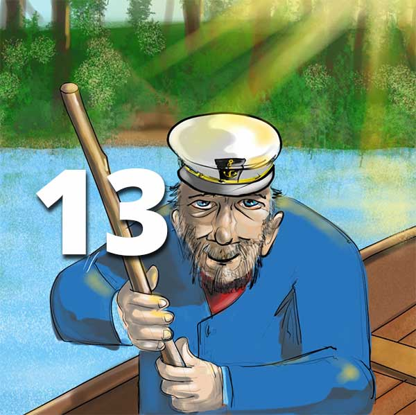 Verzell doch das em Fährimaa Podcast ferry-tales nordsee-ferien Sidney Batt Das Atlantis des Nordens