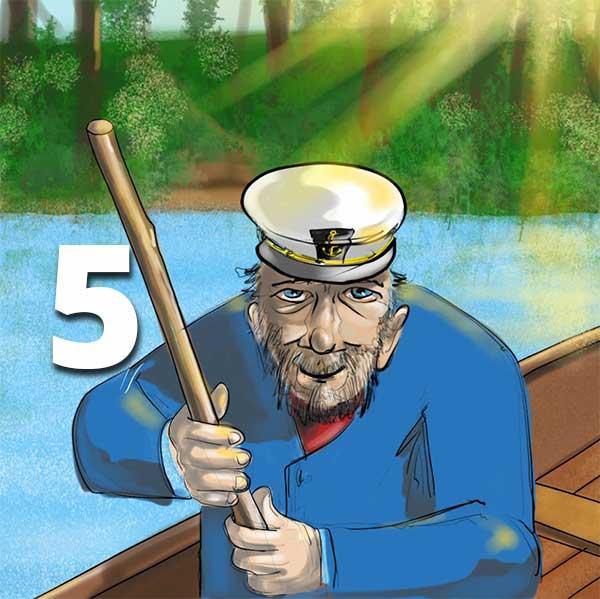 Verzell doch das em Fährimaa Podcast ferry-tales nordsee-ferien Sidney Batt W:O:A