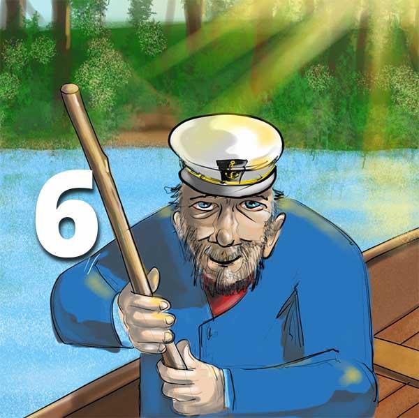 Verzell doch das em Fährimaa Podcast ferry-tales nordsee-ferien Sidney Batt Stimme aus dem OFF
