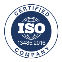 ISO 13485-2016 certified