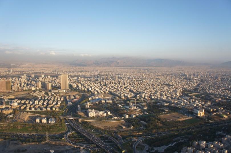 Blick auf Tehran