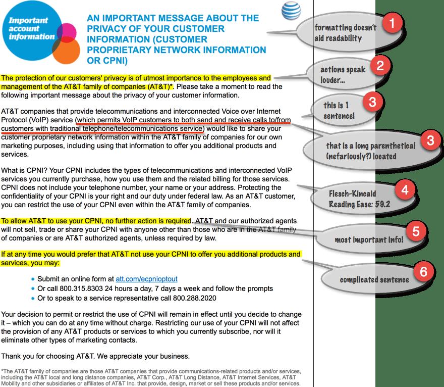 Rhetorical & #TechComm Analysis of AT&T