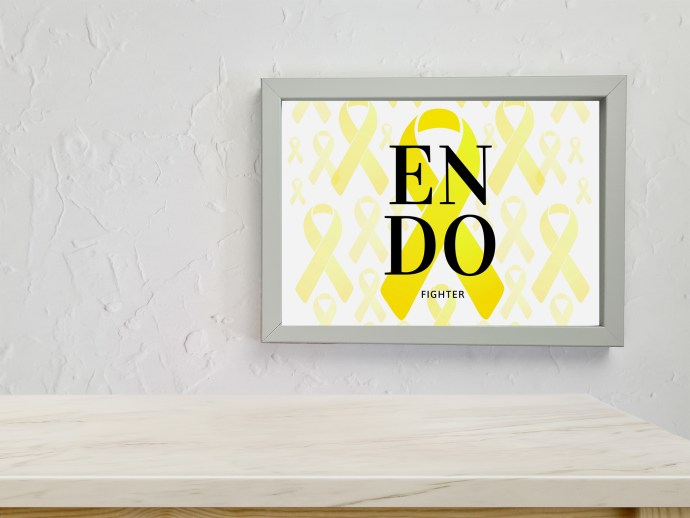 Endometriosis prints - endo fighter