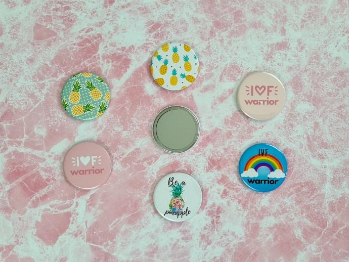 IVF pocket mirrors - 58mm