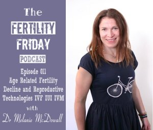 FFP 011 | Age Related Fertility Decline | Using Reproductive Technologies | IVF IUI & IVM | Dr Melanie McDowall