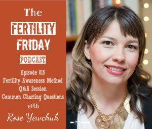 FFP 015 | Fertility Awareness Method Cycle Charting Q&A Session | Common Charting Questions | Rose Yewchuk
