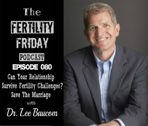 FFP 080 | Can Your Relationship Survive Fertility Challenges? | Save The Marriage | Dr. Lee Baucom