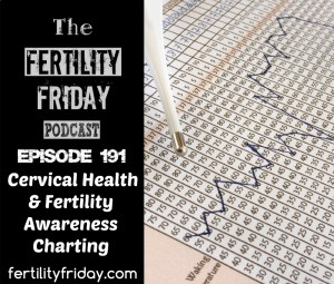 FFP 191 | Cervical Health & Fertility Awareness Charting | Lisa | Fertility Friday