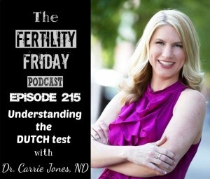 FFP 215 | Understanding the DUTCH Hormone Test | Dr. Carrie Jones, ND